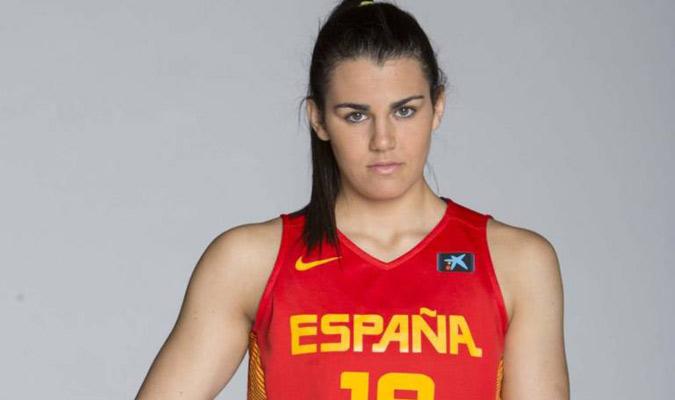 Romero se encuentra ahora concentrada con España/ Foto Cortesía