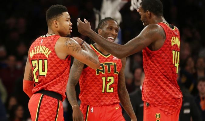 Dewayne Dedmon aportó 20 puntos y 13 rebotes / Foto AP