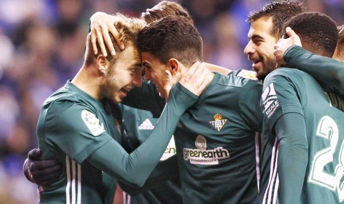 El Betis le amargó el estreno a Seedorf / Foto @RealBetis