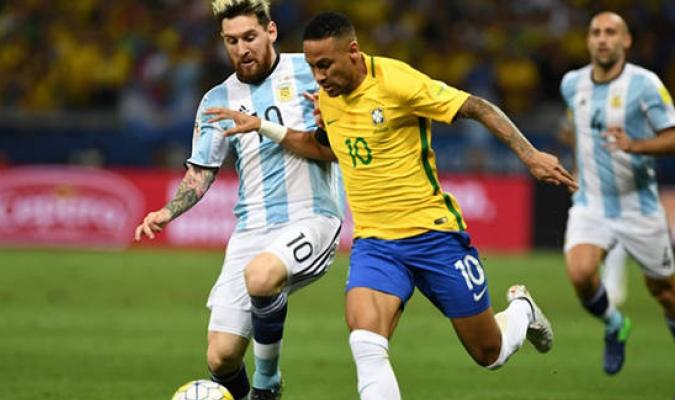 Neymar y Messi / Cortesía