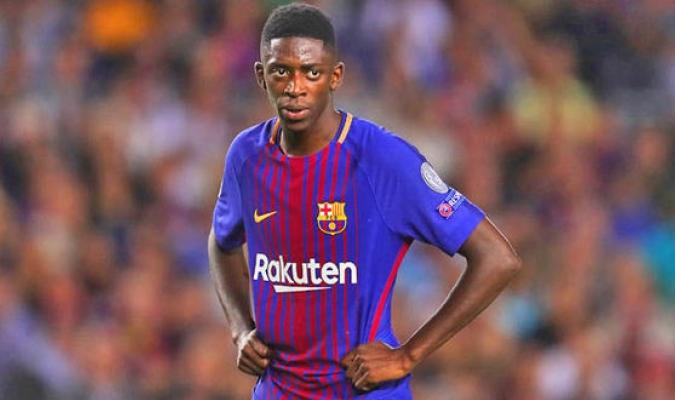 Dembélé tiene problemas en el Barcelona / Foto Agencias