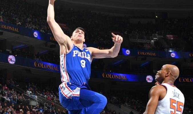 Saric aportó 24 anotaciones / Foto @NBA