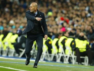 Zidane vio la recompensa ante el PSG / Foto AP