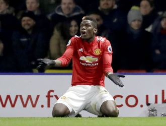 Pogba tiene un bajón en el United / Foto AP
