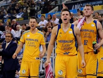 El Gran Canaria despachó a su rival / Foto EFE