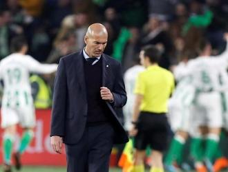 Zidane habló de la victoria merengue / Foto EFE