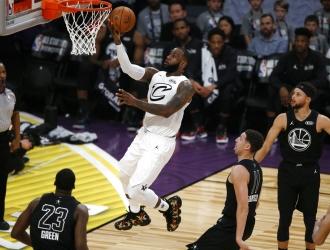 LeBron fue el MVP del Juego de Estrellas / Foto AP