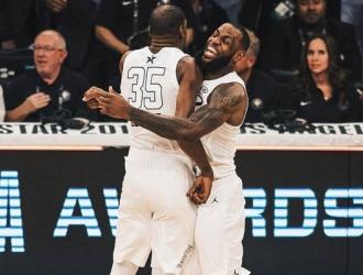 LeBron celebró el triunfo con Durant/ Foto Cortesía