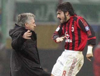 Gattuso fue la alcabala del mediocampo para Ancelotti  Foto: Referencial
