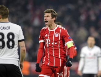 Muller encabezó el ataque bábaro / Foto AP