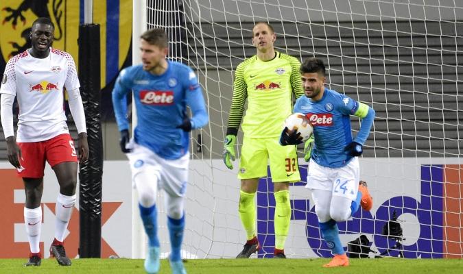 El conjunto italiano no pudo con el Leipzig / Foto AP