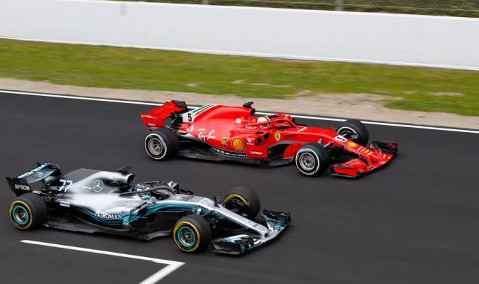 Mercedes y Ferrari / Cortesía