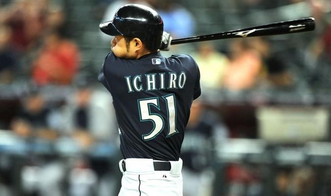 Ichiro Suzuki con los Marineros / SB Nation