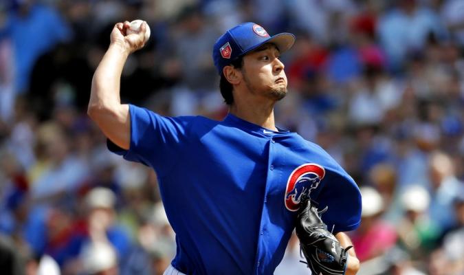 Darvish dejó buenas sensaciones / Foto AP