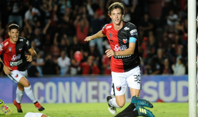 Germán Conti contra Zamora