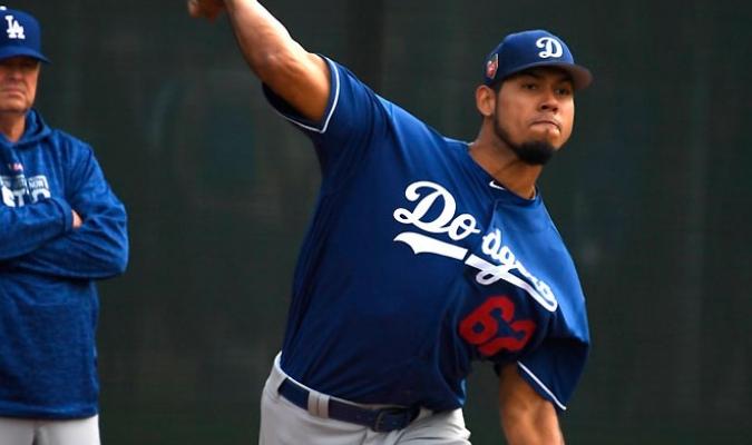 Wilmer Font / Dodgers