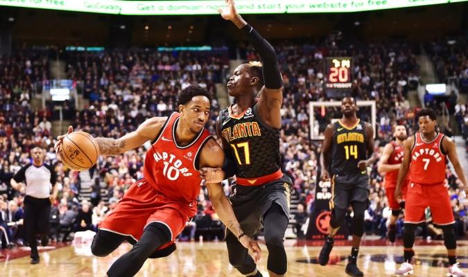 DeRozan volvió a la carga de Toronto / Foto AP