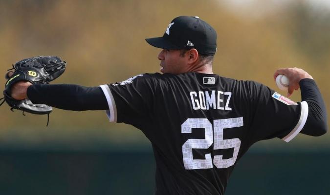 Jeamar Gómez con los White Sox / Las Mayores