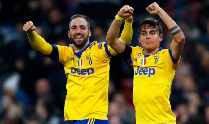 Higuaín y Dybala / Foto: Twitter Juventus