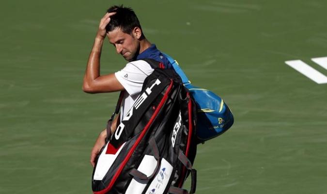 Novak Djokovic en Indian Wells / Foto: EFE