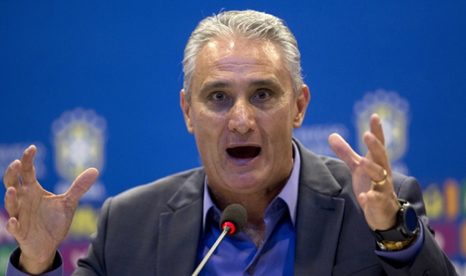 Tite, director técnico de Brasil / AP