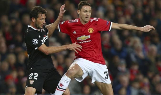 Manchester United vs Sevilla / Foto: AP