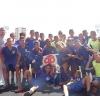 Celebraron la victoria del torneo con la copa| Prensa Asociación de Fútbol de Carabobo