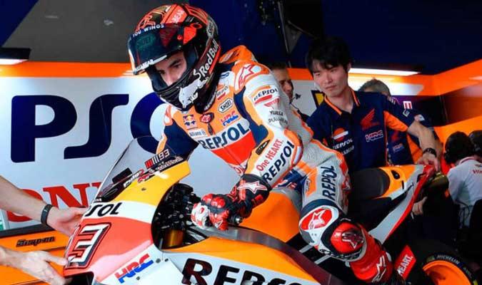 Márquez confía en empezar bien el campeonato/ Foto @marcmarquez93