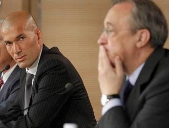 Florentino y Zidane tuvieron roce / Foto Referencia