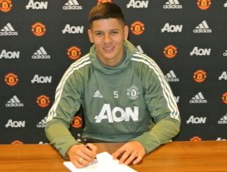 Rojo llegó al United en el 2014/ Foto