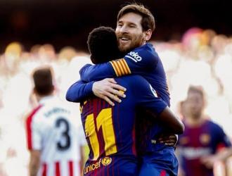 Messi anotó el segundo tanto/ Foto EFE