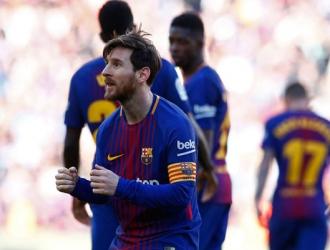 Messi mostrando su paso de baile/ Foto AP
