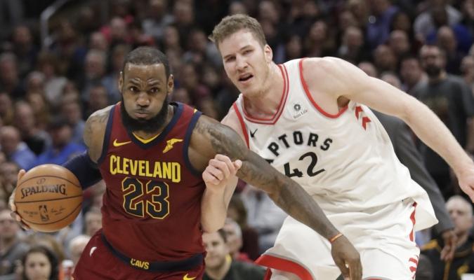 Lebron James contra Toronto / AP