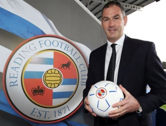 Clement  presentado con su nuevo equipo/ Foto @ReadingFC
