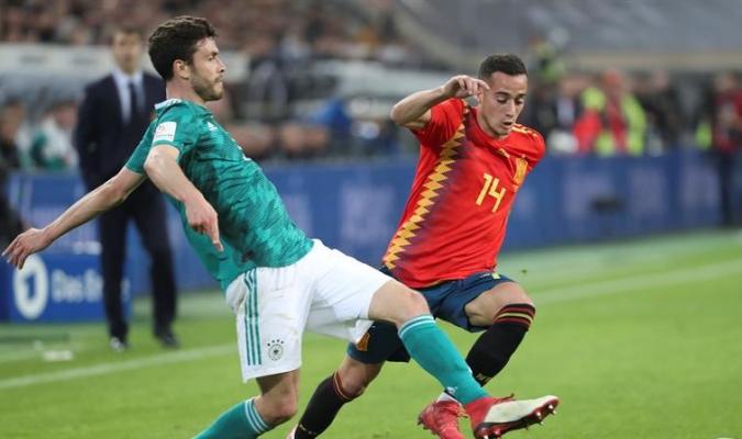 España y Alemania quedaron en tablas / Foto EFE