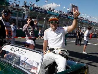 Alonso consiguió un heroico quinto puesto/ Foto AP