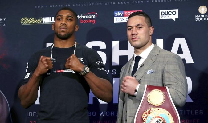 Ambos peleadores dieron su pronóstico / Foto AP