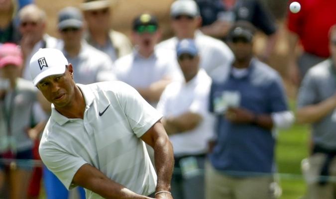 Woods no tuvo suerte / Foto AP
