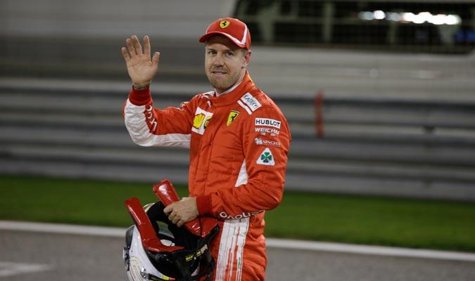 Vettel firmó su quincuagésima primera 'pole'/ Foto AP