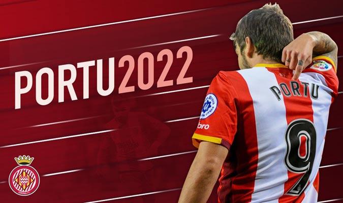 Portu tiene 11 goles en Liga/ Foto @GironaFC