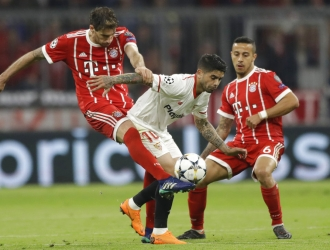 Bayern cumplió en casa con un empate / Foto AP