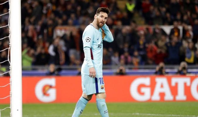 El Barcelona ha decepcionado en Europa / Foto AP