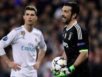 Cristiano y Buffon / AP