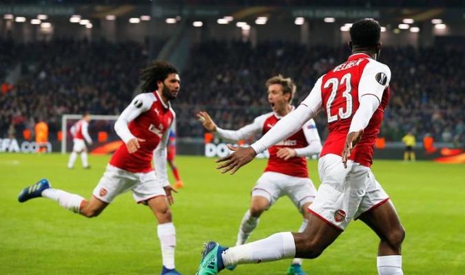 El Arsenal ya está entre los cuatro mejores / Foto EFE