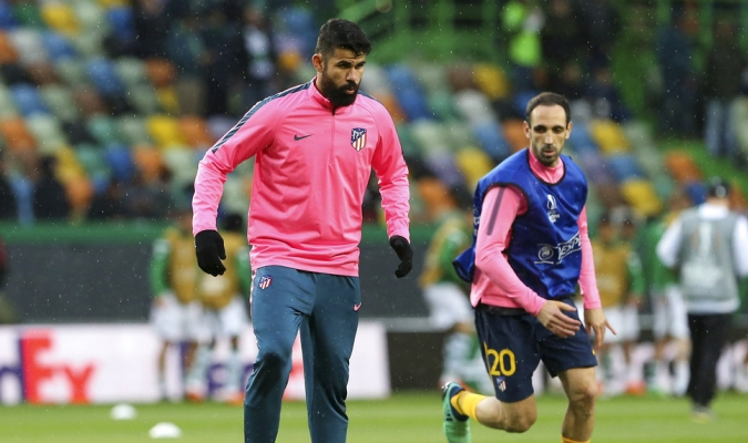 Costa no estaría para el primer partido / Foto AP