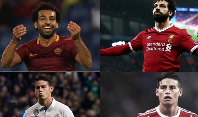 James y Salah tendrán sus revanchas en semifinales / Foto @Desmo_fut