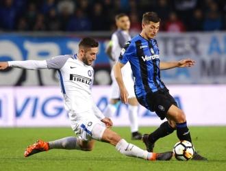 El Inter no encontró el gol en Atalanta / Foto AP