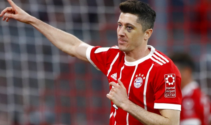 Lewandowski no descarta ir al Madrid / Foto AP