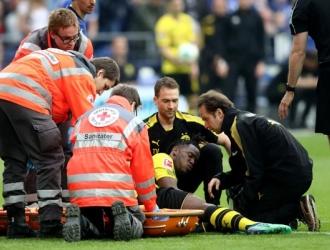 Batshuayi se lesionó ante el Schalke/ Foto Cortesía