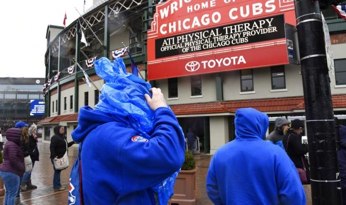 El mal clima sigue afectando a la MLB / Foto AP
